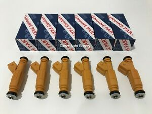 6pcs New Oem Fuel Injectors For Bosch 87 98 Jeep 4 0l 0280155710