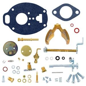 Carburetor Kit W Float For Allis Chalmers D17 Wd45 Tractor Tsx 464 561 773