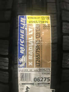 1 New Lt 265 75 16 Lre 10 Ply Michelin X Radial Lt2 Tire