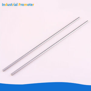 2pcs Od 6 8 10 12 16mm Cylinder Rail Linear Shaft Rod Optical Axis 300 1000mm