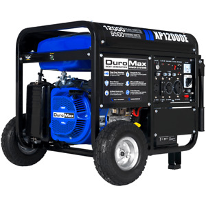 Duromax Xp12000e 12 000 watt 457cc Portable Electric Start Gas Powered Generator