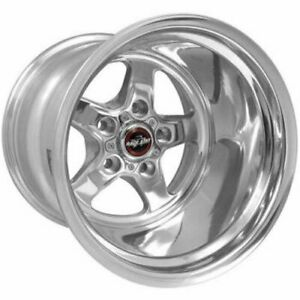 Race Star Wheels 92 514247dp 92 Series Drag Star Wheel Size 15 X 14 Bolt Circle