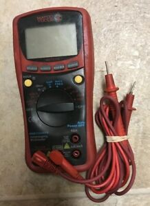 Matco Tools Multimeter Mdtech Technician Meter