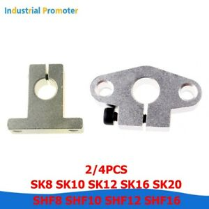Sk8 Sk10 12 16 20 Shf8 10 12 16 Linear Rail Shaft Guide Support Cnc 3d Printer