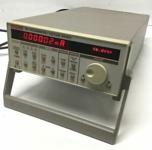 Keithley 487 Autoranging Test Picoammeter Voltage Source 500vdc 10fa To 2ma