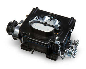 Demon 750 Cfm Black Street Demon Carburetor With Aerospace Composite Fuel Bowl