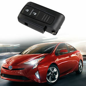 2 Buttons Uncut Key Fob Remote Control Case Clicker Shell For Toyota Prius Usa