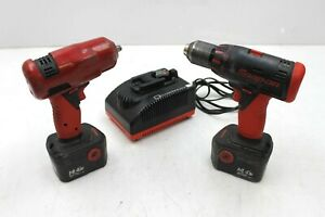 Snap On 3 8 Drive 14 4v Ct4410 Cordless Impact 1 2 Drill Driver Combo Cdr4450