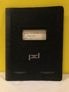 Pacific Model 5015s Power Supply Instruction Manual