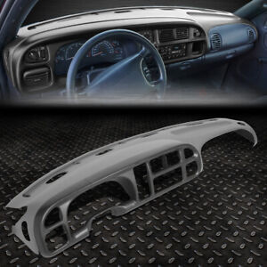 For 98 02 Dodge Ram Truck 1500 3500 Dashboard Cover Cap Overlay Instrument Bezel