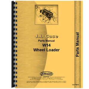 Parts Manual For Case W14 Wheel Loader Tractor