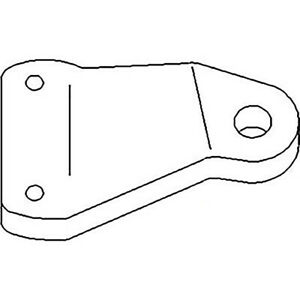 Wide Front Piovt Bolster For John Deere M Mt 40 420 430