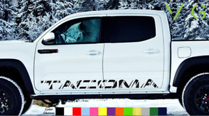 Toyota Tacoma Vinyl Decal Sticker Graphics Trd Sport Side Door X2 Any Color 003