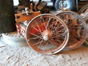 Two 1926 27 Model T Wheels Macth Set