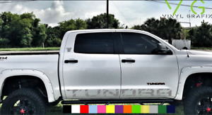 Toyota Tundra Vinyl Decal Sticker Graphics Trd Sport Side Door X2 Any Color 013