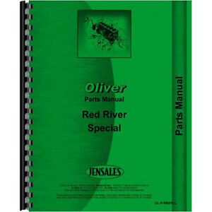 New Oliver Red River Special Tractor Parts Manual