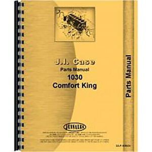 New Case 1030 Tractor Parts Manual