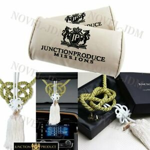 Junction Produce Vip Car Neck Rest Pillow Headrest Gw Charm Kin Tsuna Rope Set