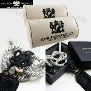 X2 Junction Produce Vip Car Neck Rest Pillow Headrest Sb Charm Kin Tsuna Rope