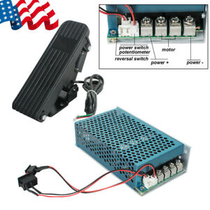 Hot Usa Reversible Dc Motor Speed Controller Pwm Control Soft Start 5000w