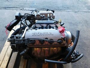 Jdm Honda Civic 1 6l Engine D16y 5 Speed Manual Trans Non V Tec