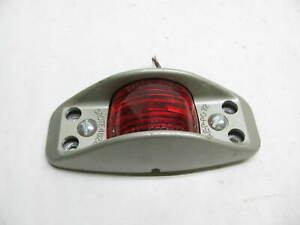 Vintage Grote 4268 Armored Side Marker Light Red