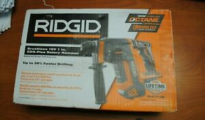 Ridgid R86711b 18v Brushless 1 Sds plus Rotary Hammer Drill tool Only