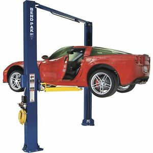 Bendpak Asymmetric Automotive Lift 10 000 lb Capacity Model Xpr 10a