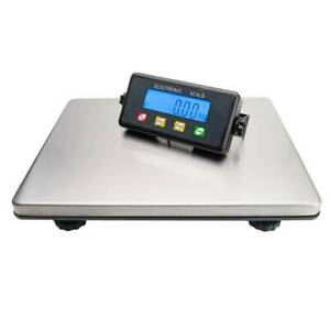 200kg 50g Digital Lcd Postal Scale For Shipping Weight Postage Stainless Steel