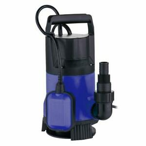New 400w Plastic Water Submersible Pump Clean Clear Dirty Pool Pond Flood Drain