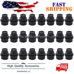 24pcs Lug Nut Cover Cap Fit For Chevrolet Gmc 1500 2500 Full Size Truck 15646250