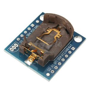 New I2c Rtc Ds1307 At24c32 Real Time Clock Module For Arduino Avr Arm Pic Smd