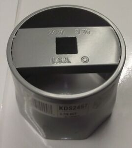 Kd 2457 3 7 8 8 Point Wheel Bearing Lock Nut Socket 3 4 Drive Usa