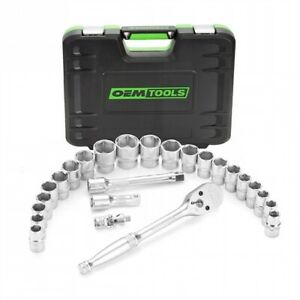 Oemtools 23995 26 Piece 1 2 In Ratchet And Socket Set