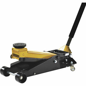 Omega 3 5 ton Low Profile Service Floor Jack Steel Model 29038