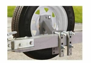 Spare Tire Carrier Boat Trailer Travel Utility Cargo Wheel Rim High Mount Rv New