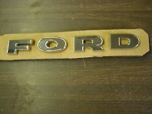 New Repro 1962 1963 1964 Ford F100 Truck Pickup Grille Letters Emblems Badges
