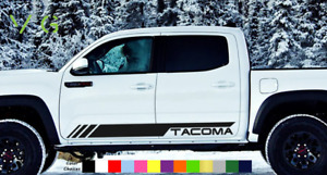 Toyota Tacoma Vinyl Decal Sticker Graphics Trd Sport Side Door X2 Any Color 004