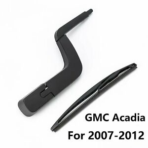 Rear Window Wiper Arm With Blade For Gmc Acadia 2007 2013 Gm Saturn Outlook