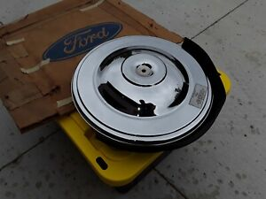 Nos Ford 1957 Thunderbird Air Cleaner Assembly W base Filter Element Lid 57 Oem