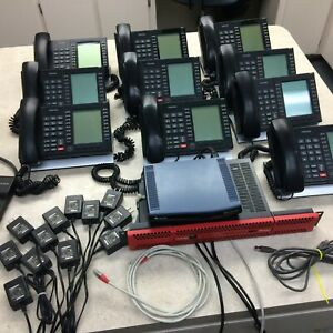 Toshiba Voip Ipedge Phone System With 9 Toshiba Phones 1211