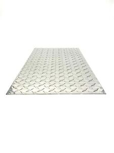 Aluminum Diamond Plate Sheet 045 24 X 48 New