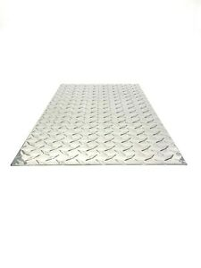 New Aluminum Diamond Plate Sheet 045 24 X 48 18 Gauge
