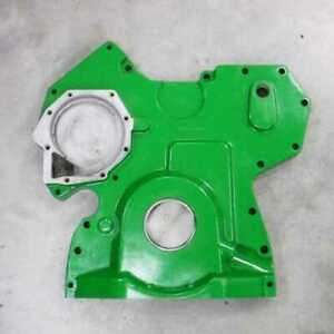 Used Timing Gear Cover John Deere 9560 7220 9550 Sh 6320 9550 7420 6420 7520