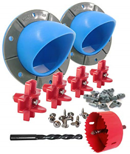 Best Chicken Feeder Waterer Kit Porthole Bucket Poultry With Drinkers Drill