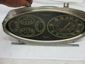 Vintage Plymouth Gauge Panel 1930s Ac Gauges And Speedometer