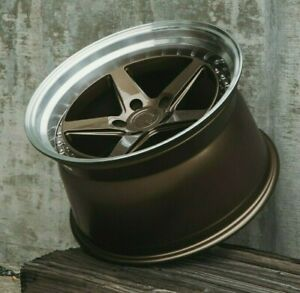 Aodhan Ds05 Wheels 18x9 5 18x10 5 5x114 3 15 Bronze 18 Staggered Rims Set 4