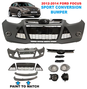 2012 2013 2014 Ford Focus Front Bumper Cover Complete Sport Conversion