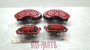 2007 2013 Mercedes S63 Amg S65 Cl63 Cl65 Brake Calipers Front Rear With Pads Oem