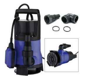 1 5hp 1100w Clear Dirty Water Submersible Pump Swimming Pool Pond Flood Drain Us